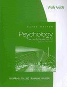 Study Guide for Weiten's Psychology: Themes and Variations, Briefer Edition 8th edition 9780495811824 0495811823