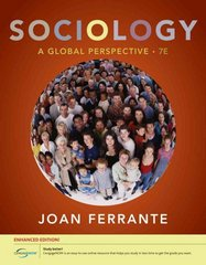Sociology 7th edition 9780840032041 0840032048
