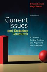 Current Issues and Enduring Questions 9th edition 9780312547325 0312547323