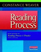 Reading Process 3rd Edition 9780325028439 0325028435
