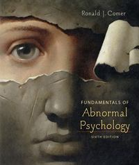 Fundamentals of Abnormal Psychology 6th edition 9781429216333 1429216336