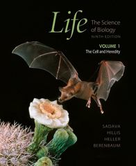 Life: The Science of Biology, Vol. I 9th edition 9781429246453 1429246456