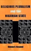 Religious Pluralism & Nigerian State 1st edition 9780896801943 0896801942