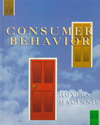Consumer Behavior 1st edition 9780395665923 0395665922