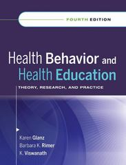 Health Behavior and Health Education 4th Edition 9780787996147 0787996149