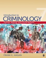 Introduction to Criminology 7th edition 9781412979719 1412979714