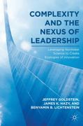 Complexity and the Nexus of Leadership 1st Edition 9780230622289 0230622283