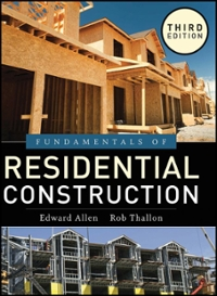 Fundamentals of Residential Construction 3rd Edition 9780470540831 0470540834