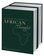 The Oxford Encyclopedia of African Thought 1st edition 9780195334739 0195334736