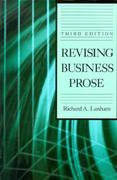 Revising Business Prose 3rd Edition 9780023674655 0023674652