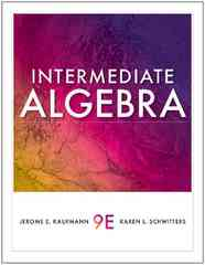 Intermediate Algebra 9th edition 9781439049006 1439049009