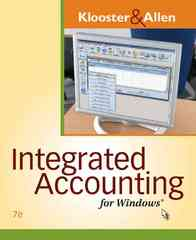 Integrated Accounting for Windows (with Integrated Accounting Software CD-ROM) 7th edition 9780538747974 0538747978