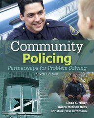 Community Policing: Partnerships for Problem Solving 6th Edition 9781435488687 1435488687