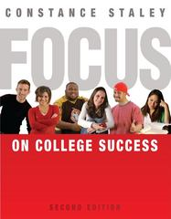 FOCUS on College Success 2nd edition 9780495803355 0495803359