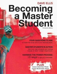 Becoming a Master Student 13th Edition 9781439081747 1439081743