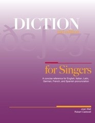 Diction for Singers 2nd Edition 9781934477700 1934477702