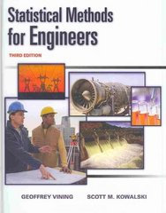 Statistical Methods for Engineers 3rd edition 9780538735186 053873518X
