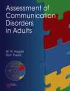 Assessment of Communication Disorders in Adults 1st Edition 9781597564144 1597564141
