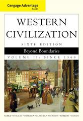 Cengage Advantage Books: Western Civilization 6th edition 9780495900740 0495900745