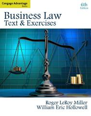 Cengage Advantage Books: Business Law: Text and Exercises 6th Edition 9780324786163 0324786166