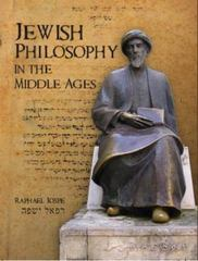 Jewish Philosophy in the Middle Ages 1st Edition 9781934843277 193484327X