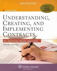 Understanding Creating and Implementing Contracts 2nd edition 9780735590168 0735590168