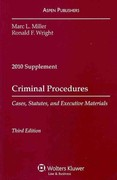 Criminal Procedure 2010 Case Supplement 3rd edition 9780735590373 0735590370