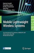 Mobile Lightweight Wireless Systems 0 9783642038181 3642038182