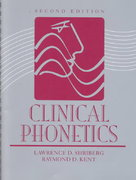 Clinical Phonetics 2nd Edition 9780024102133 002410213X