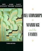 Relationships in Marriage and Family 3rd edition 9780024175809 0024175803
