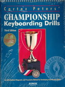 Cortez Peters Championship Keyboarding Skills 3rd edition 9780028012001 0028012003
