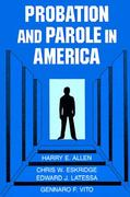 Probation and Parole in America 0 9780029004401 0029004403