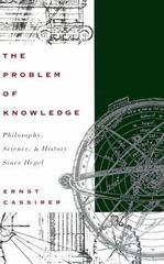 The Problem of Knowledge 0 9780300010985 0300010982