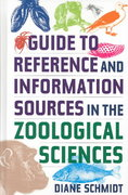 Guide to Reference and Information Sources in the Zoological Sciences 0 9781563089770 1563089777
