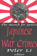 Japanese War Crimes 0 9780765808905 0765808900