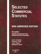 Selected Commercial Statues 2005th edition 9780314161840 0314161848