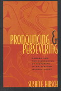 Pronouncing and Persevering 1st edition 9780226344645 0226344649