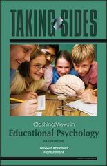 Taking Sides: Clashing Views in Educational Psychology, 6/e with FREE Annual Editions: Assessment and Evaluation 10/11 CourseSmart eBook 6th edition 9780077386108 0077386108