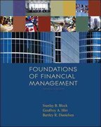 Foundations of Financial Management with S&P bind-in card + Time Value of Money bind-in card + Homework Manager Plus Access Card 13th edition 9780077388201 0077388208