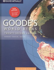 Rand McNally Goodes World Atlas 22th Edition 9780528877544 0528877542