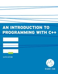 An Introduction to Programming With C++ 6th edition 9780538466523 0538466529