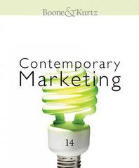 Contemporary Marketing 2011 14th edition 9780538746892 0538746890