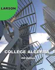 College Algebra 8th edition 9781439048696 143904869X