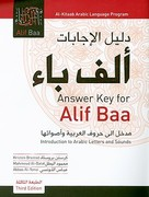 Answer Key for Alif Baa 3rd edition 9781589016347 1589016343