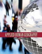 Applied Human Geography 7th edition 9780757564352 0757564356