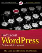 Professional WordPress 1st edition 9780470560549 0470560541