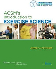 ACSM's Introduction to Exercise Science 1st edition 9780781778114 0781778115