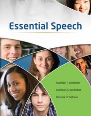 Essential Speech 1st edition 9780538449908 053844990X