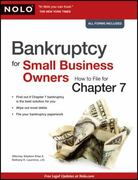 Bankruptcy for Small Business Owners 1st edition 9781413310801 141331080X