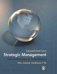 Strategic Management: Concepts and Cases 9th edition 9781439042304 1439042306